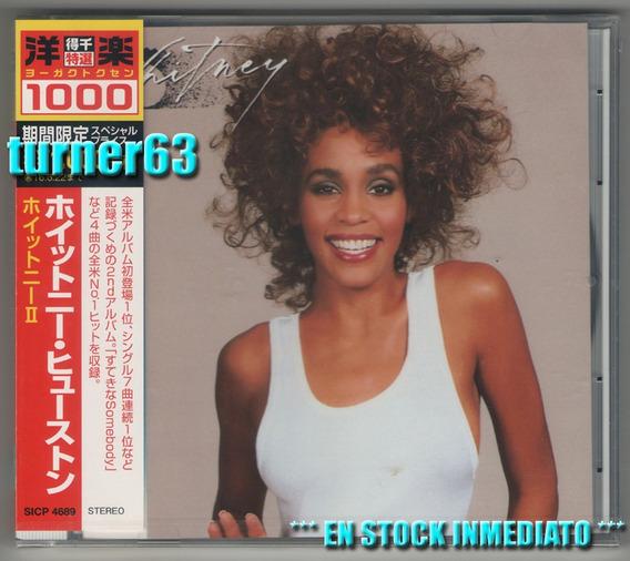 Cd ** Whitney Houston * Whitney * Japan Nuevo Sellado C/ Obi