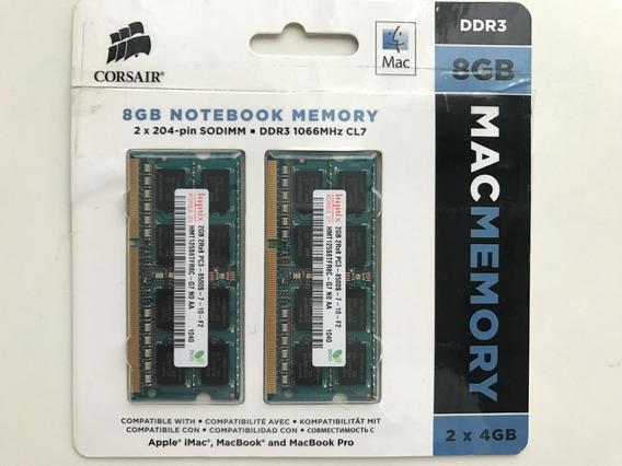 Memória Notebook Hynix 4gb 2rx8 Pc3-8500s-7-10-f2 (2+2gb)