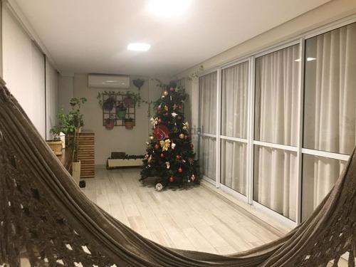Apartamento  Na Moóca Com Varanda Gourmet,  4 Vagas - Ta7383