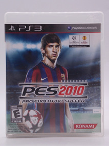 Pes 2010 Play Station 3 Original Mídia Física