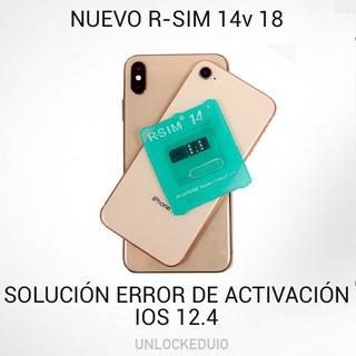 Rsim 14 V18 Original 2019 Libera Banda iPhone Xs Max Xr X
