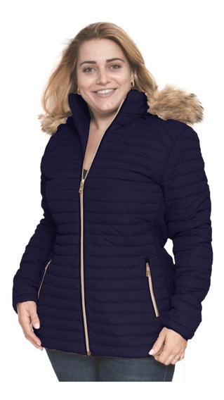 Chamarras Mujer Tallas Extras 4042 Gorrodesm C/forro