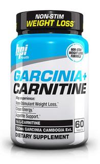 Carnitina + Garcinia Bpi 60cáps Importada Musclepharm Nutrex