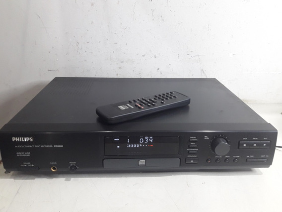 Philips Cdr880 Audio Compact Disc Recorder