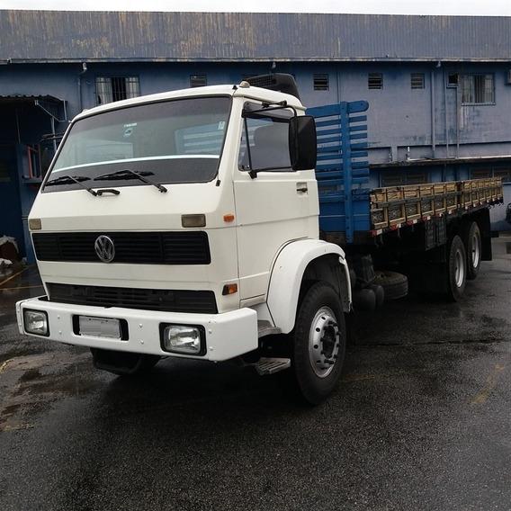 Vw 16-170bt Ano 1996 Truck Reduzido Com Carroceria De 8m