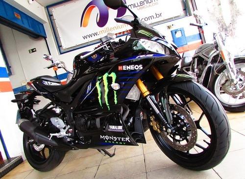 Imagem 1 de 12 de Yamaha Yzf R3 Abs Monster  2021 - 4 Mil Km - Loja Millenium