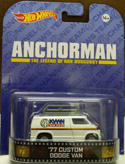Hot Wheels 77 Custom Dodge Van - Anchorman - Retro