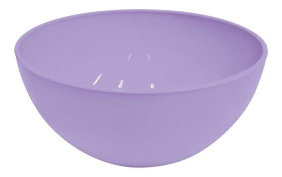 Bowl Ensaladera Carol Plástico Irrompible 17 Cm Compoteras