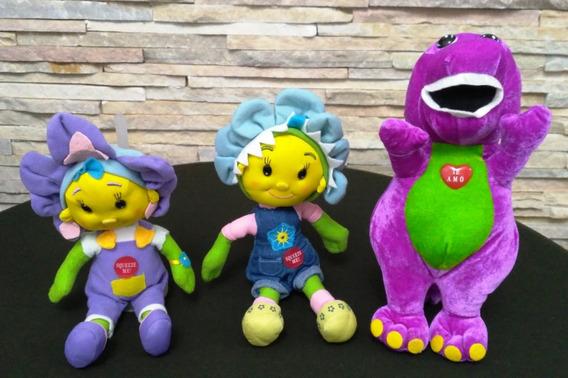 Bonecas Fifi E Os Floriguinhos E Barney