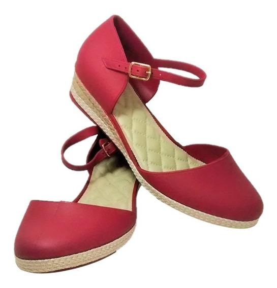 Sapatilha Feminina Espadrille Sapato Casual Sandália Leve