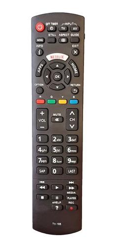 Control Remoto Tv Panasonic Smart Netflix + Forro + Pilas