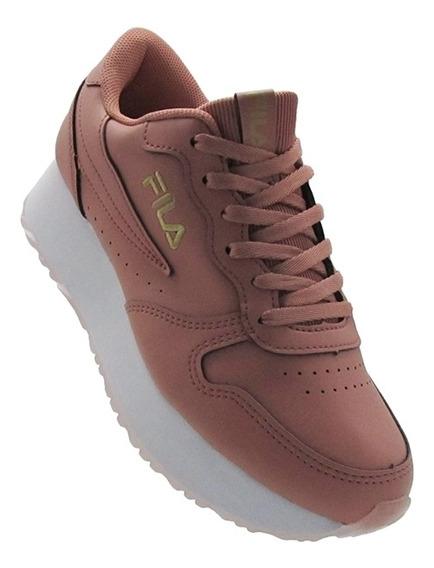 Zapatillas Fila Mujer Euro Jogger Wedge Sl ( 877428 )