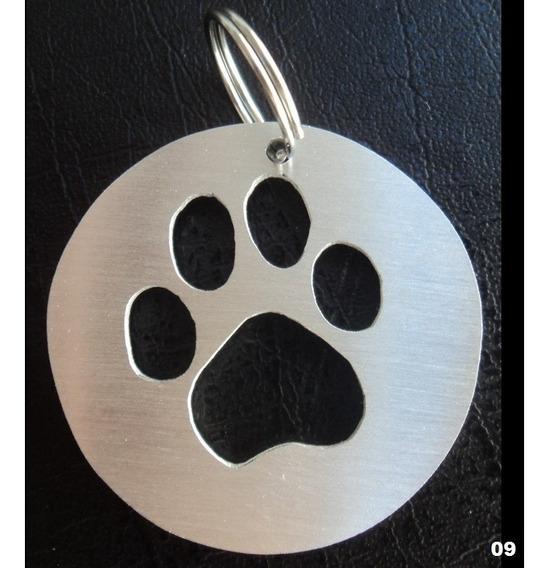 Pingente Cão Gato Coleira Pet Medalha Placa De Identificação