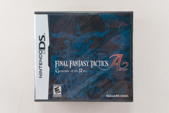Nintendo Ds Final Fantasy Tactics A2 Grimoire Of The Rift