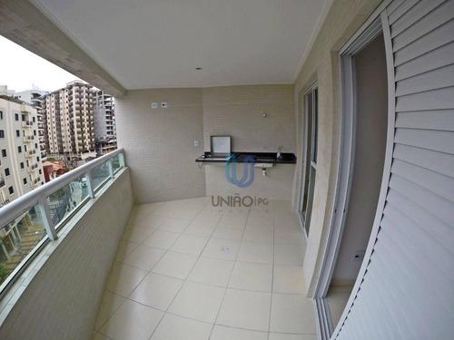 Imagem 1 de 20 de Apartamento Em Praia Grande Com 2 Dormitórios À Venda, 79 M² Por R$ 330.000 - Caiçara - Ap0280