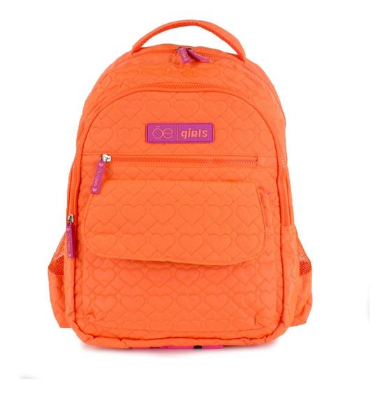 Backpack Con Bordado De Corazón Cloe Girls Niña