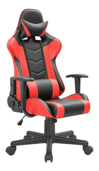 Cadeira Gamer Couro Reclinável 180 Graus Giratória Trmax Pro