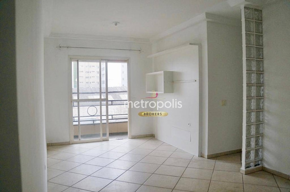 Apartamento Com 2 Dormitórios Para Alugar, 79 M² Por R$ 1.620,00/mês - Barcelona - São Caetano Do Sul/sp - Ap1119