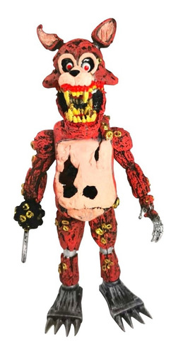 Figura Five Nights At Freddys Twisted Foxy Animatronic 21cm