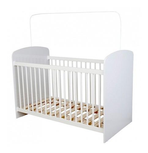 Imagen 1 de 2 de Cuna Cama Bebe Infantil Blanca