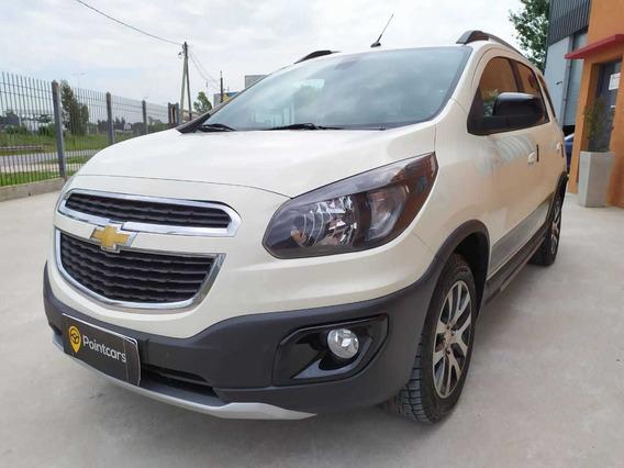 Chevrolet Spin Activ Aut 1.8 2018 5 P Nafta Moreno