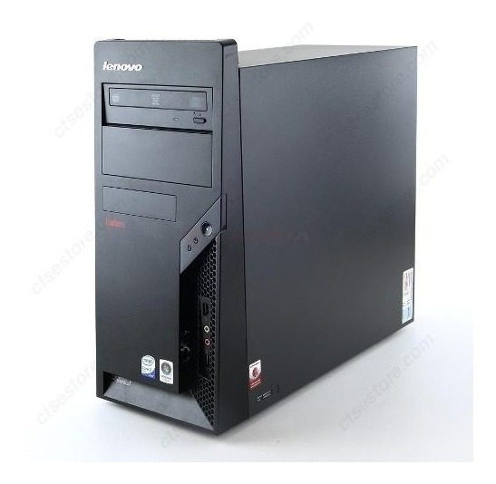 Cpu Lenovo Core 2 Duo 3gb Hd 80gb Leitor Dvd + Monitor 15