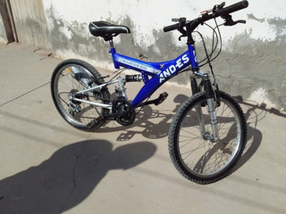 Bicicleta Andes Mountain Bike Rodado 20