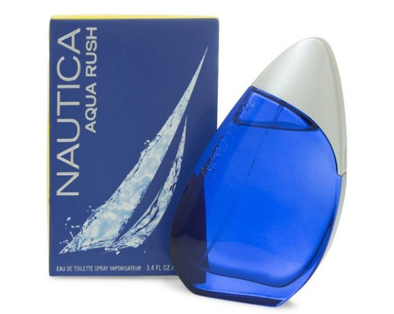 Perfume Original Nautica Aqua Rush Caballero 100 Ml