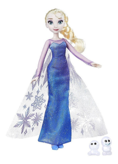 Frozen Muñeca Luces Del Norte