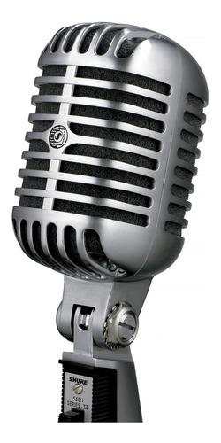 Imagen 1 de 9 de Micrófono Vocal Shure 55sh Dinámico Cardioide