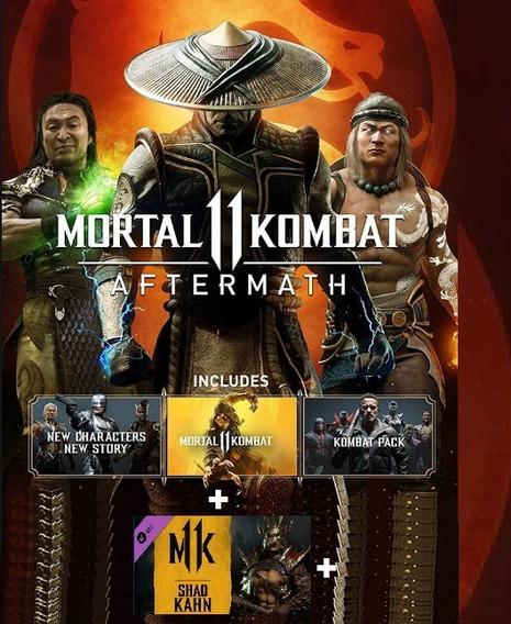 Mortal Kombat 11 Aftermath Steam Mk 11 Premium + Shao Kahn