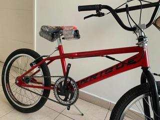 Bicicleta Bmx Enrique Jump Freestyler20 781 Roja San Isidro