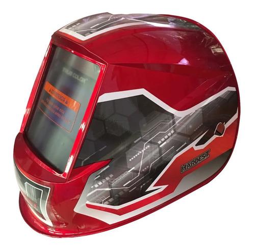 Máscara Fotosensible Careta Soldar 100x62mm Color Real Usb