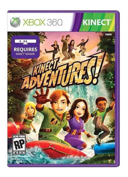 Jogo Kinect Adventures Mídia Física Xbox 360 Lacrado Novo