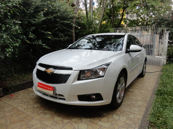 Chevrolet Cruze Lt 1.8 Ecotec Manual 2012 Branco Impecavel !