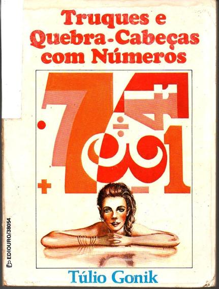 Livro De Truques E Quebra-cabeças Com Números