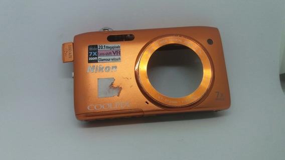 Carcaça Completa Câmera Digital Nikon Coolpix S3500