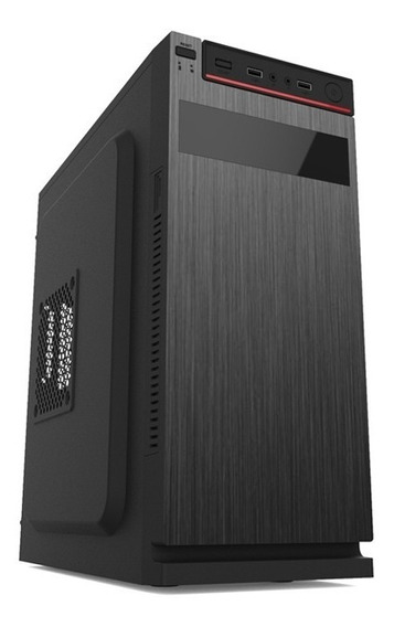 Cpu Core 2 Duo E8400 2gb 80gb Wifi Win 7 + Teclado E Mouse