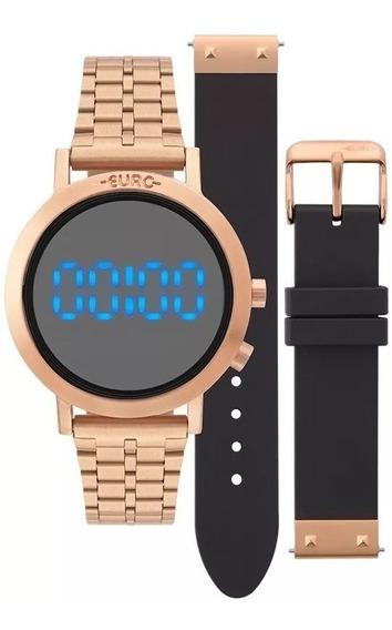 Relógio Euro Feminino Fashion Fit Eubj3407ac/t4p + Pulseira