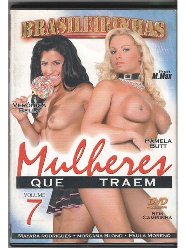 Dvd Porno Brasileirinhas, Mulheres Que Traem Vol 7-original | Mercado Livre