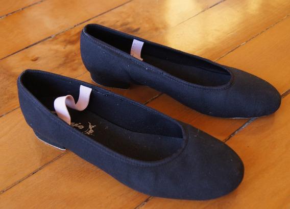 Sapato Carater Ballet Capezio Exame Royal Academy Of Dance