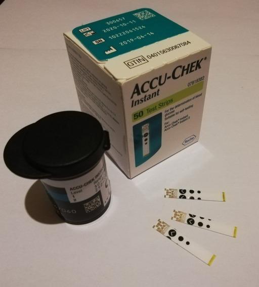Tiras Para Glucómetro Accu-chek Instant