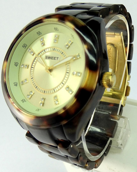 Reloj Sweet Cerámica He 78438 Garantía 12m Tienda Oficial