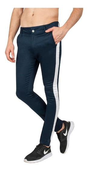 Pantalon Philliphe Con Franja Lateral, Valkymia