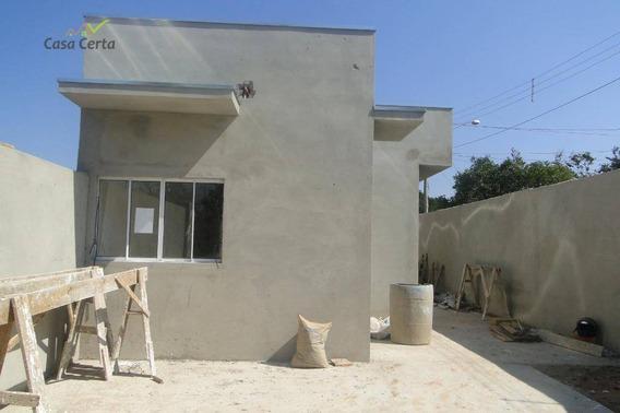 Casa Com 2 Dormitórios À Venda, 55 M² Por R$ 185.000 - Jardim Itamaraty - Mogi Guaçu/sp - Ca1502