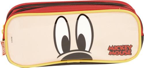 Imagem 1 de 3 de Estojo 2 Compartimentos Mickey Mouse 19y Sestini - 65314
