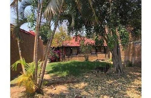 Casa Sola De Una Planta, Pueblo De Ocotepec, Morelos.