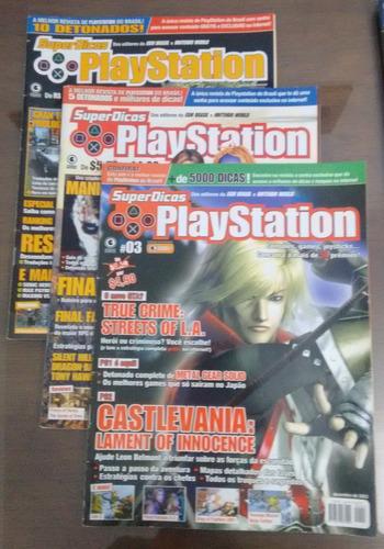 Revistas Super Dicas Playstation - 12 Edições
