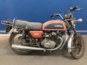 Honda Cb 200 Ano 1975