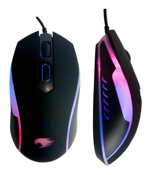 Mouse Gamer G-fire 4d Wired 1200dpi Rainbow Mog016